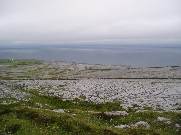 Photo of Black Head and Gleninagh Mountain, The Burren