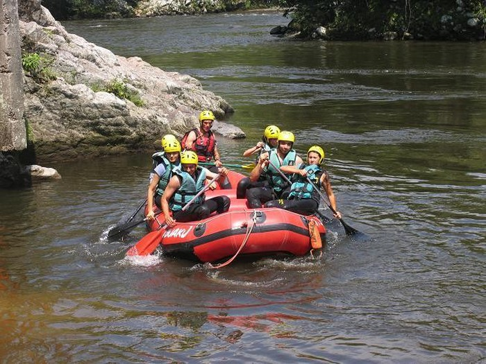 Photo of Rafting en el rio magdalena