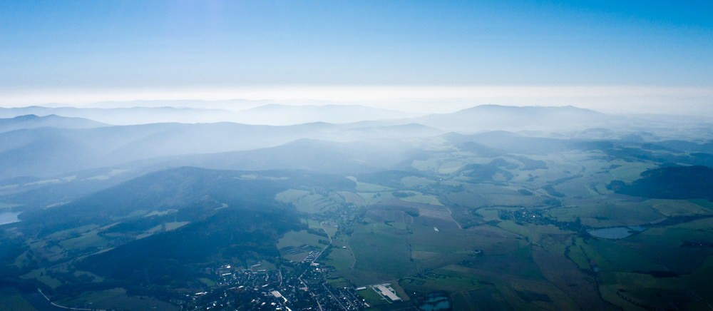 Фото Ostry by plane  10.10.2010