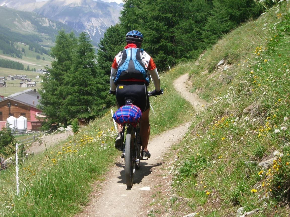 Photo of BTT Alpes Occidentales. Etapa 1: Cavaglia- Rifugio Val Fraele