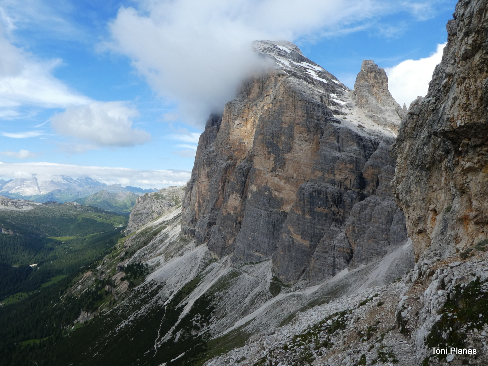 Photo of Dolomites: Punta Anna a la Tofana de Meso