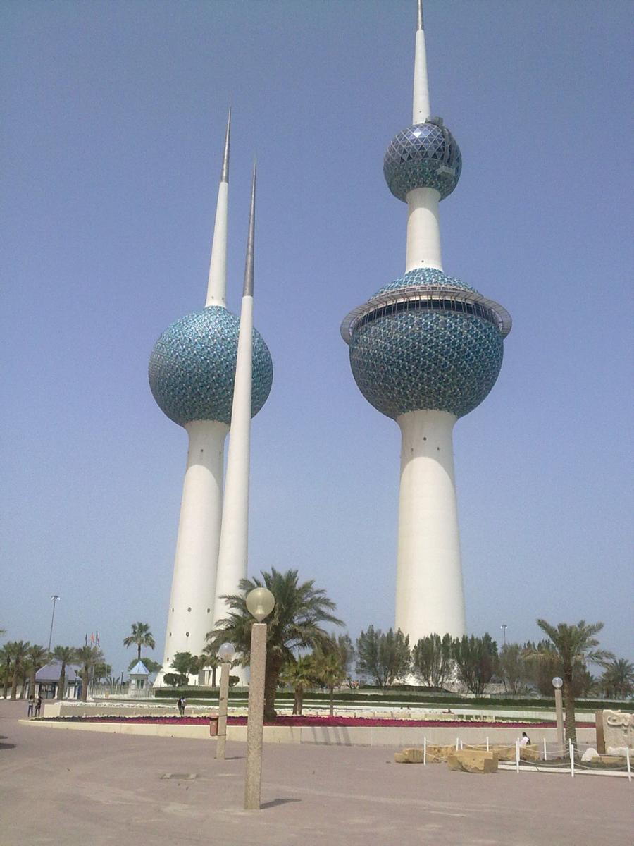 Foto di Gulf road from Al Corniche Club to Kuwait Towers