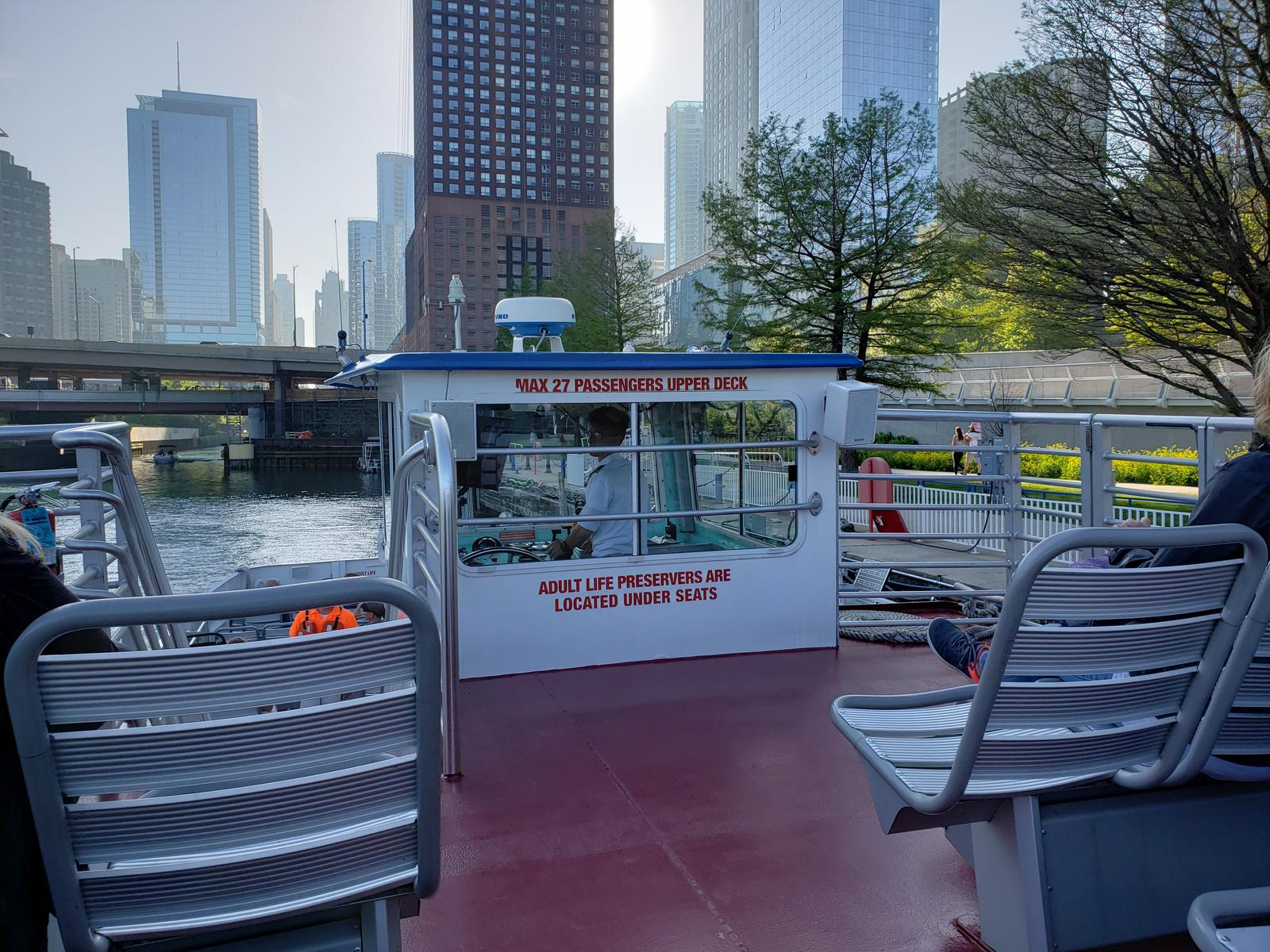 Слика од Water Taxi from the Navy Pier to Michigan