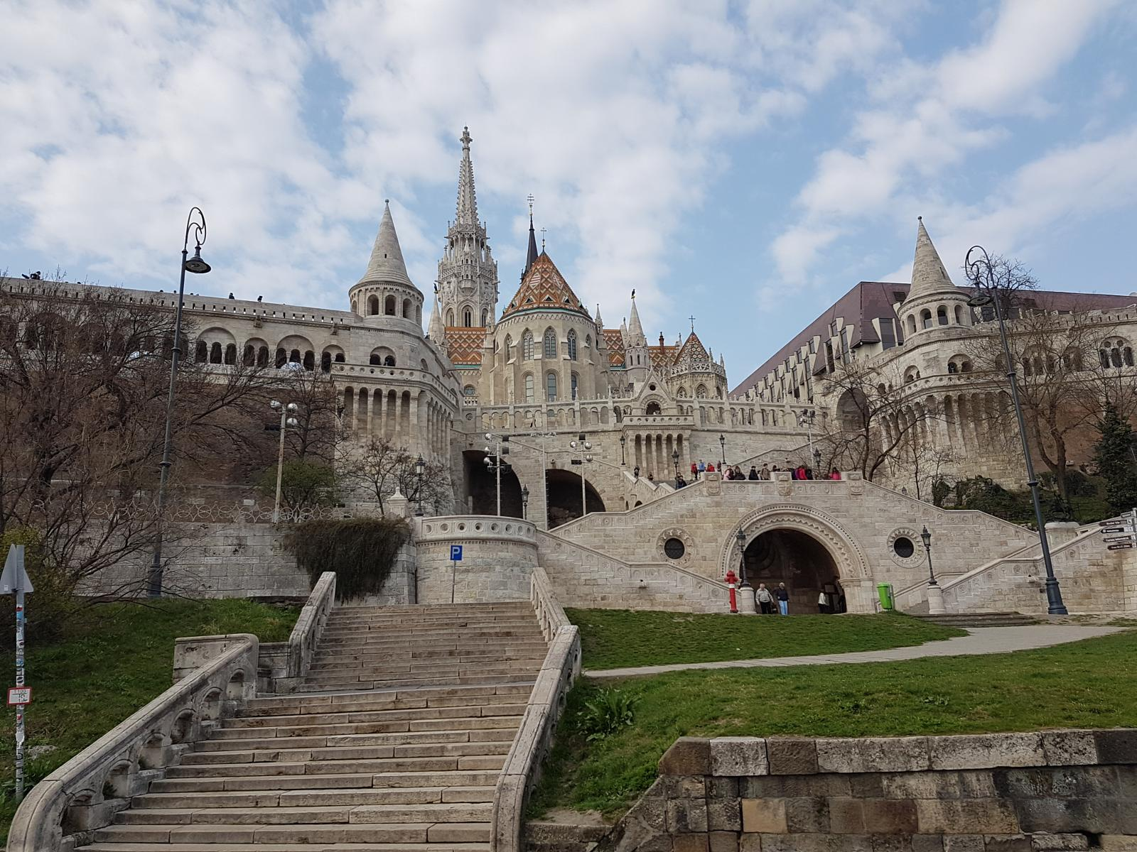Photo of 2019 March, Budapest, St Matyas Ch, Buda castle