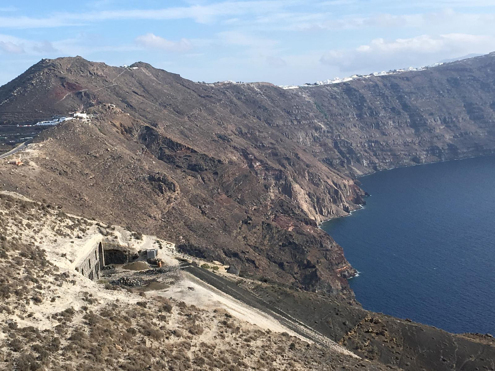 Foto de Part of Boat from Iraklion to Santorini, bus to Thira, walk to Oia