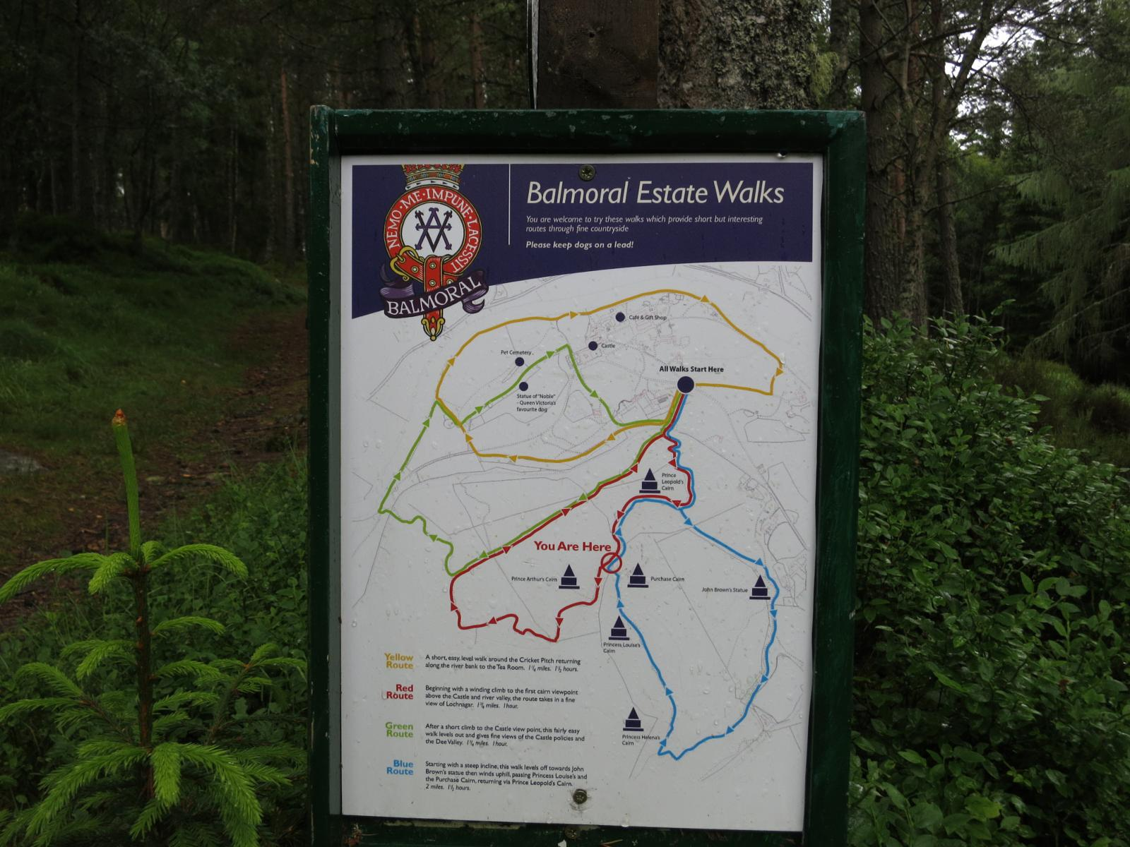 Foto de Balmoral estate walk