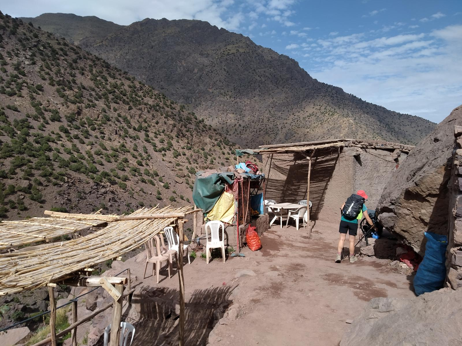 Photo of Mt Toubkal from imlil
