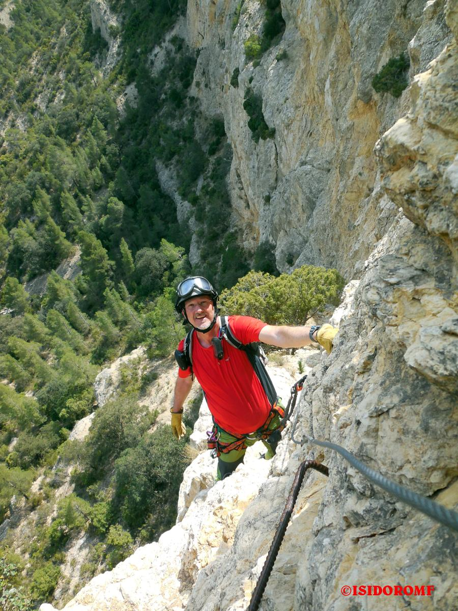 的照片 VIA FERRATA LA NORTE DEL CID Alicante