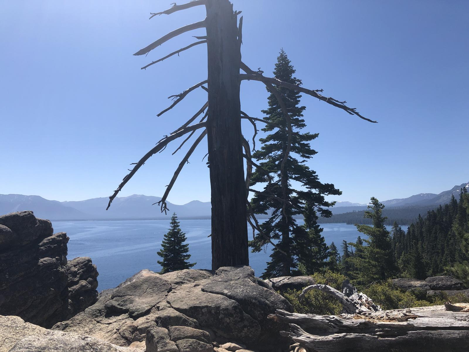 Zdjęcie Lighthouse trail and Rubicon trail - Tahoe Lake