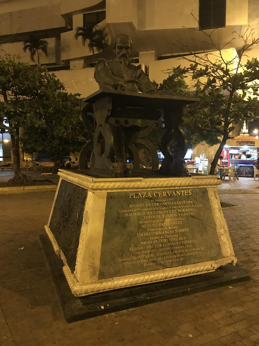 Photo of Ending at Plaza Cervantes