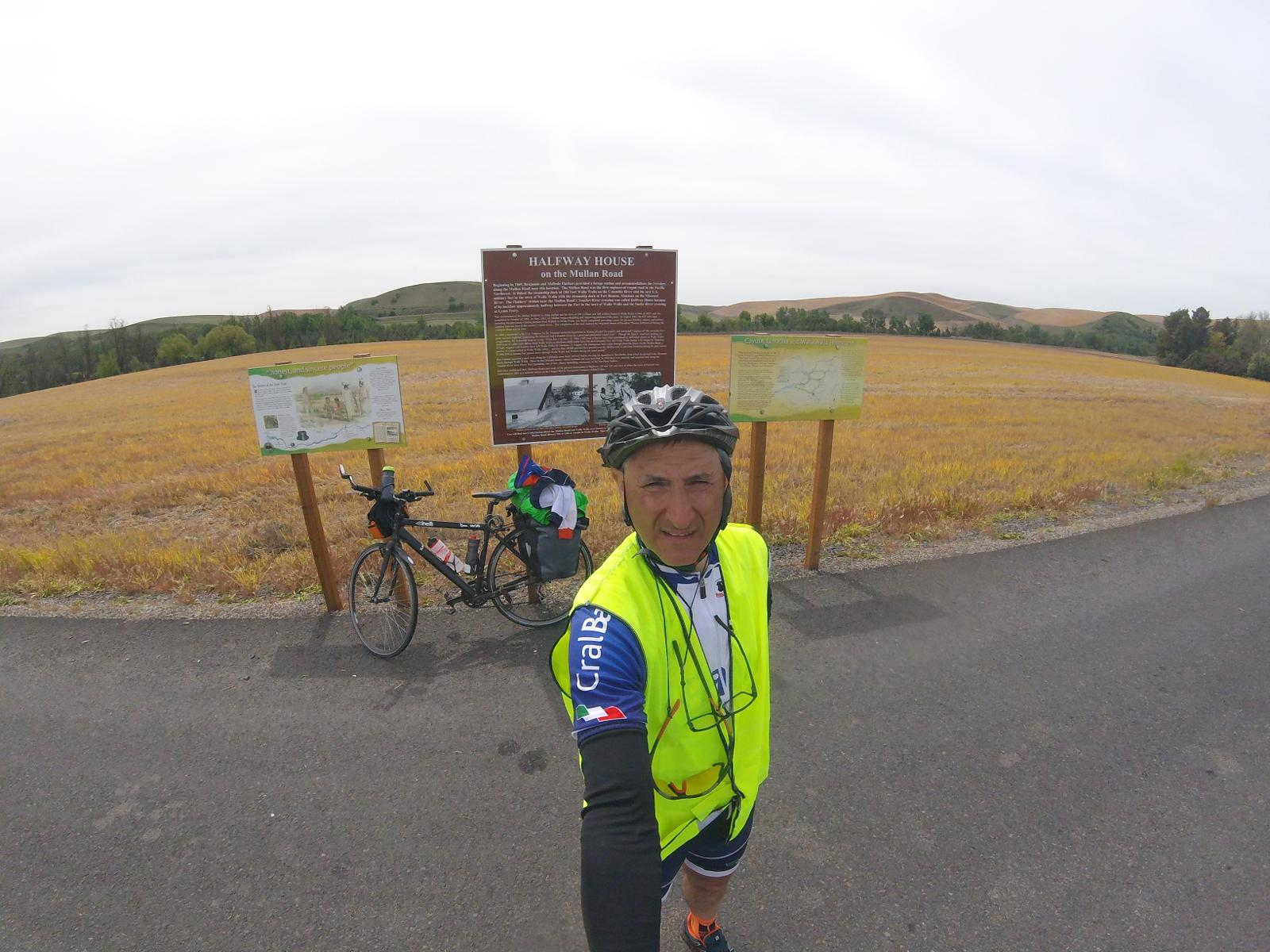 Foto von 4 FOURTH CYCLING STAGE SEATTLE TO NEWYORK