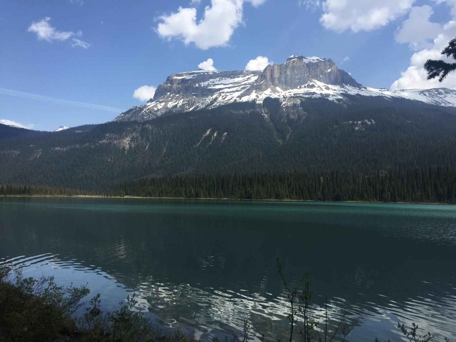 Foto von Emerald lake and Yoho pass