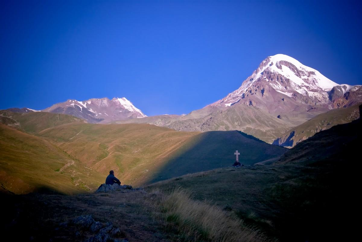 mynd af Climb to the top Kazbek