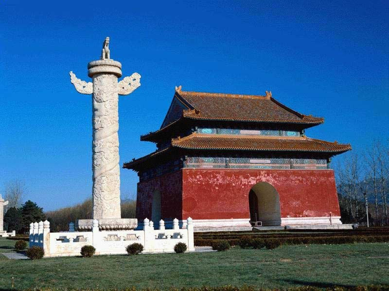 Foto de Way to Changling (the first tomb of the 13 Ming tombs)