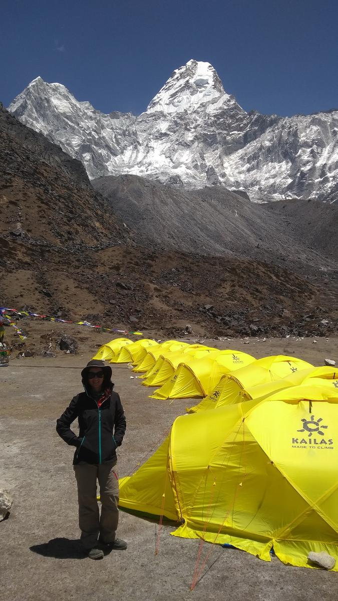 Photo of Ama Dablam Base Camp