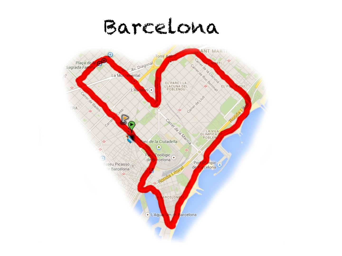 Fénykép Cycle your heart out in Barcelona!