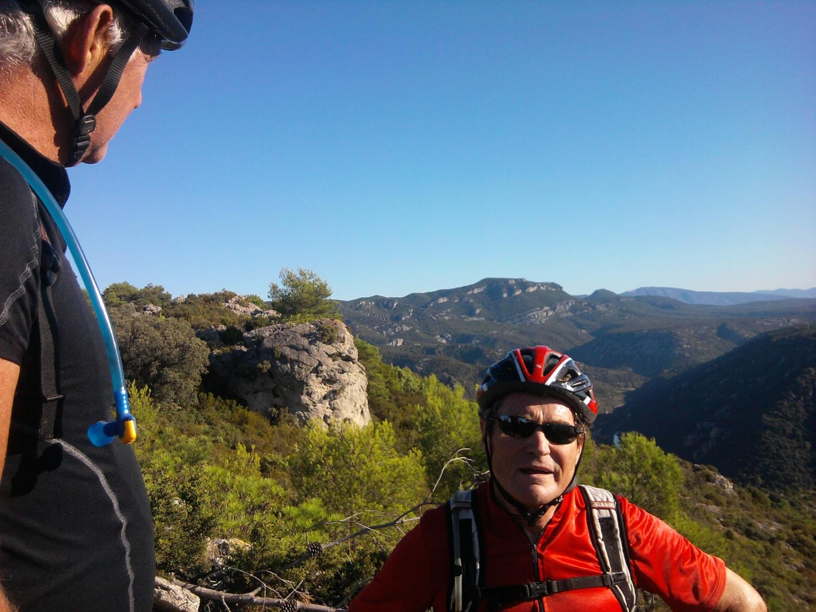 Photo de vtt saint jean de fos saint guilhem 30 km