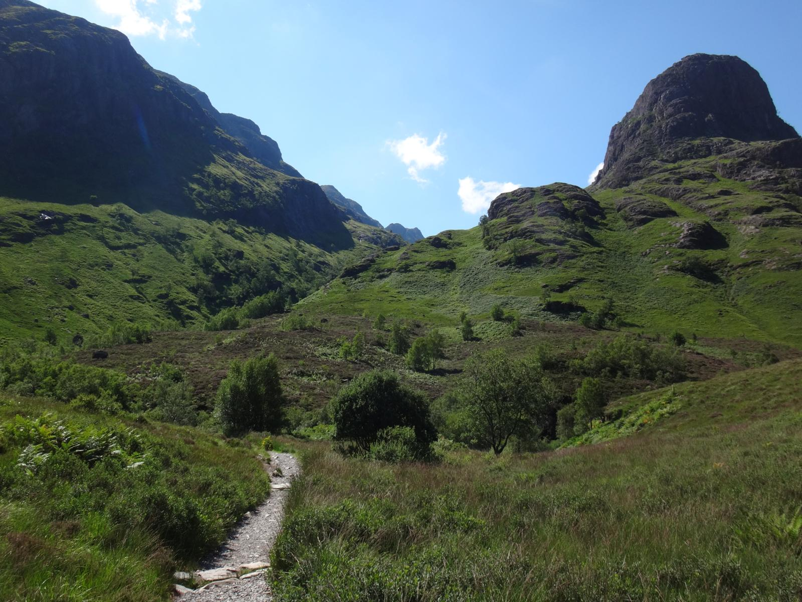 Photo of Glen Coe and the three sisters