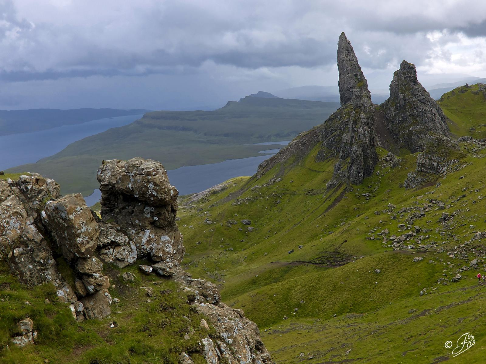 的照片 THE OLD MAN OF STORR, ISLA DE SKYE POR JLG FOS FILMS