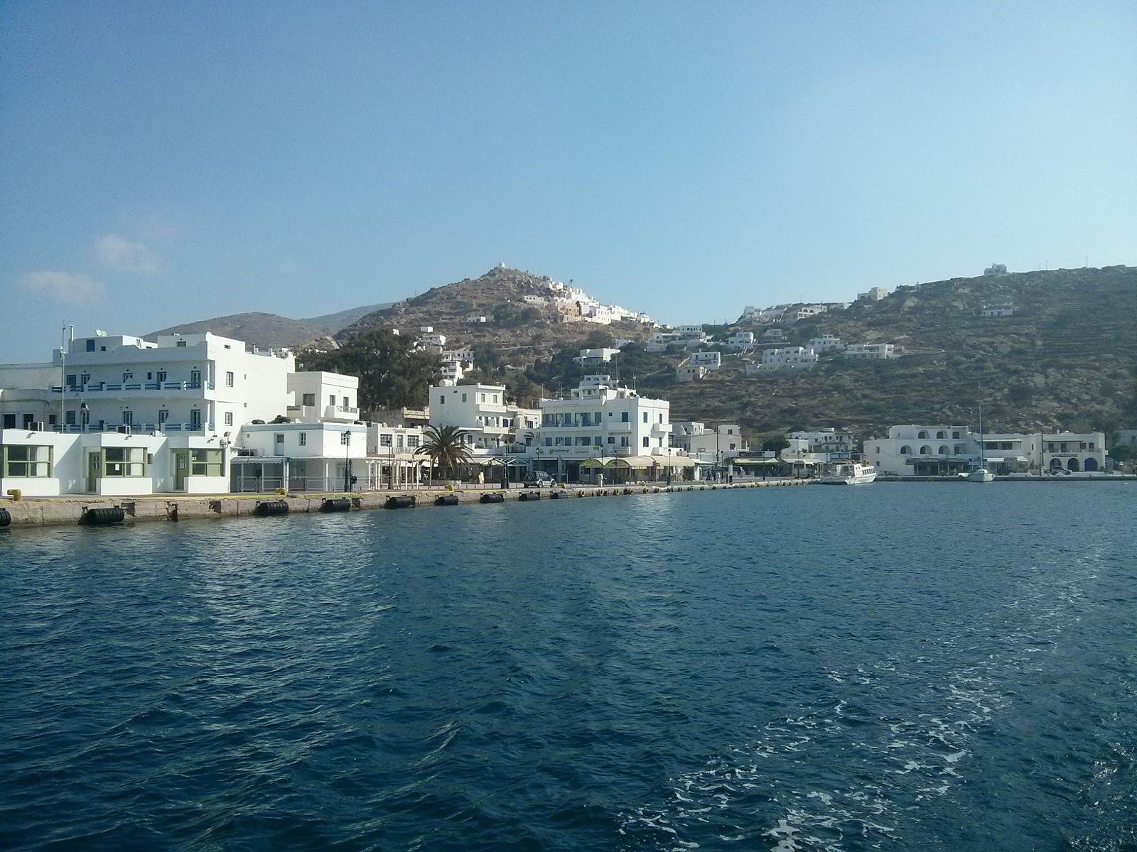 Photo of Ios town harbour