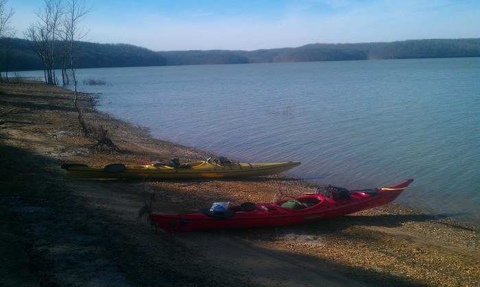 Photo of Kayak camping Lake Monroe