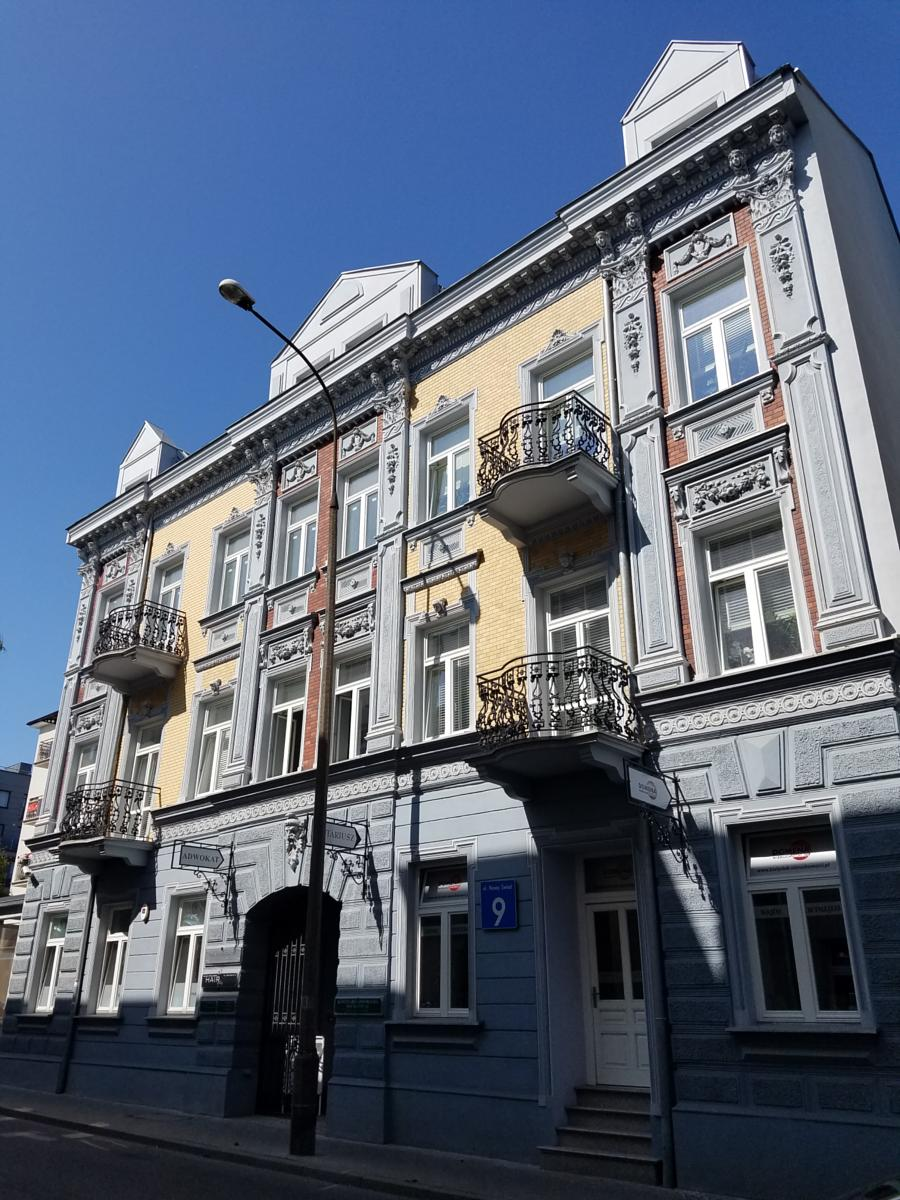 Photo of One of the few original Jewish homes still in bialystok