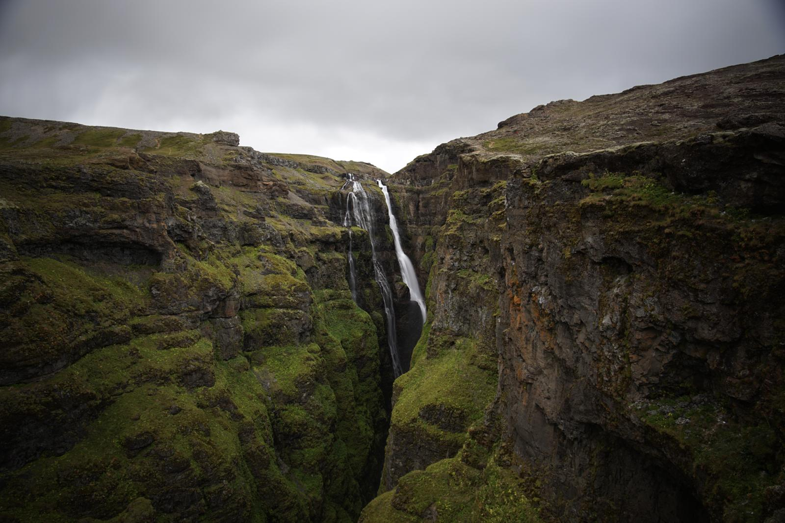 Foto di borntotrek.it in Islanda - Glymur Waterfall and Hiking (Iceland)