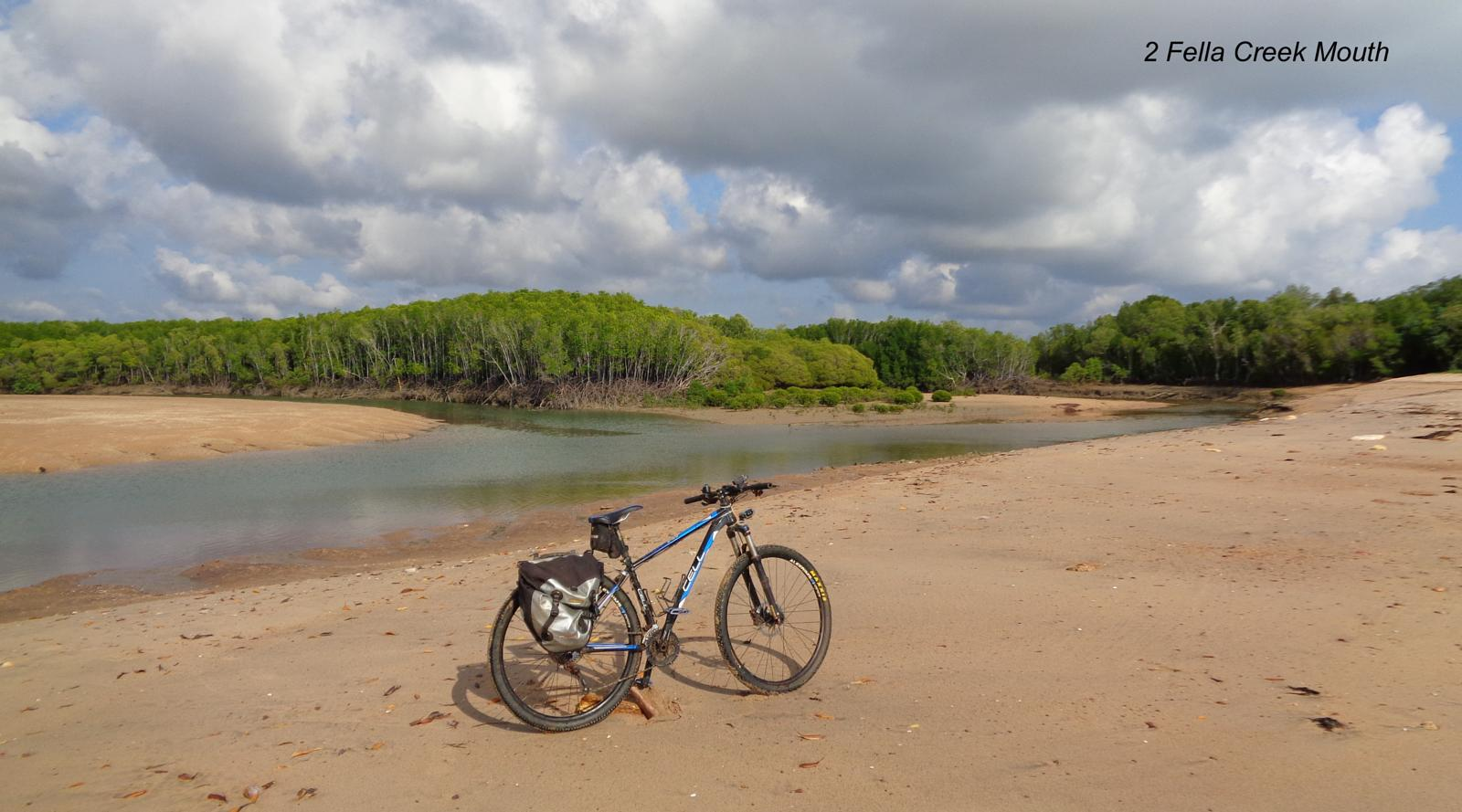 Foto di Mandorah N. T. Mountain Bike Beach Bomber Bush Trail