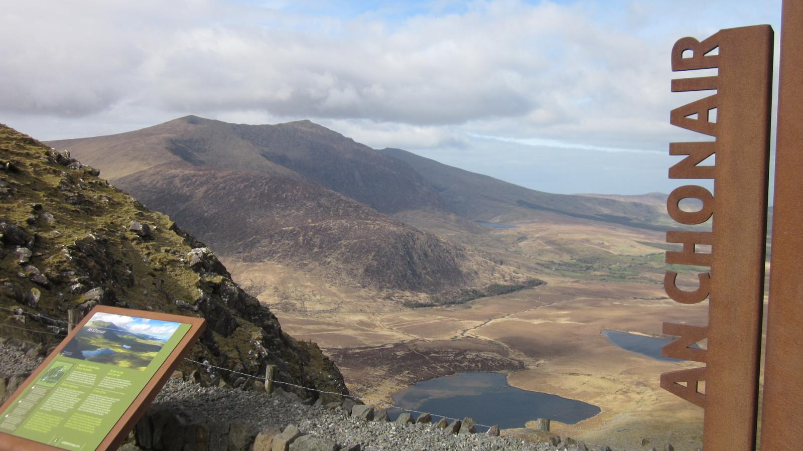 mynd af Conor Pass to Slievanea NE Top (Co. Kerry - Dingle)