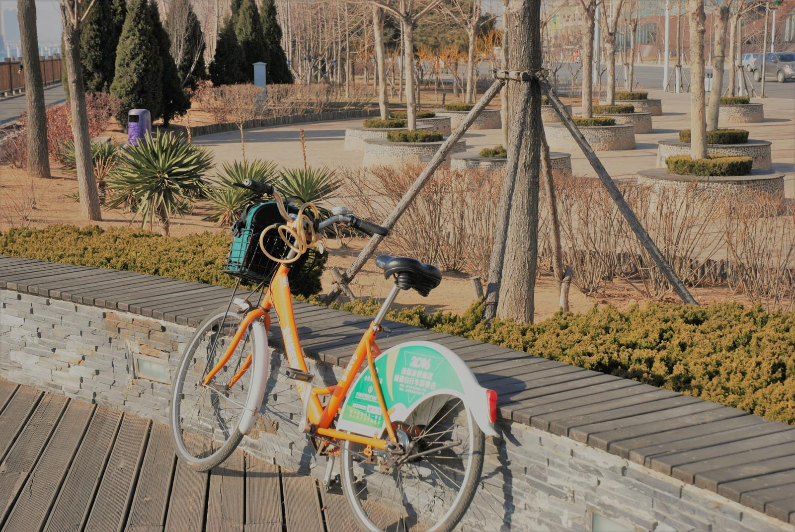 Фото Kaifaqu, Liaoning Province, PRC - Bicycle the Dalian Green-way (West part)
