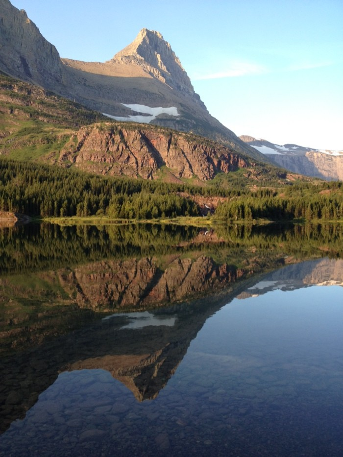 Photo of USA - Glacier Natl. Park - Swiftcurrent Pass - Highline Trail