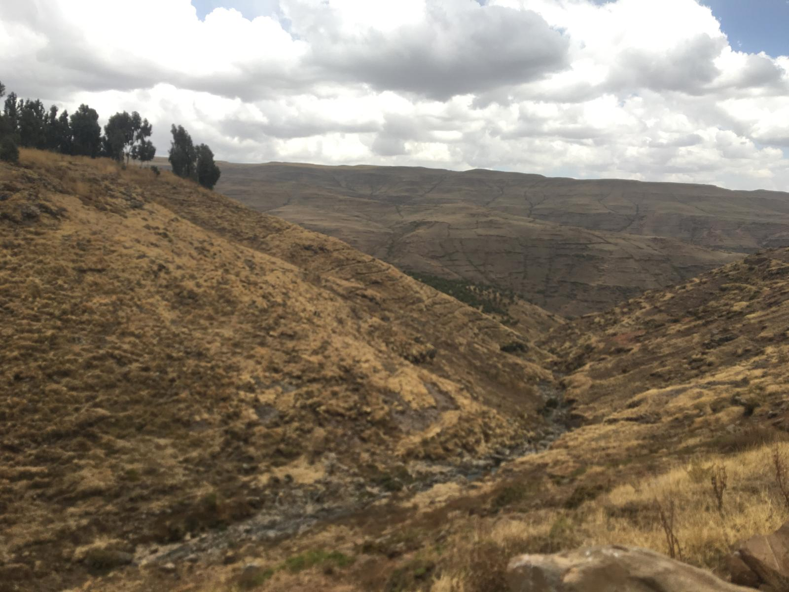 Слика од Second day of four of the Simien trekking, Ethiopia