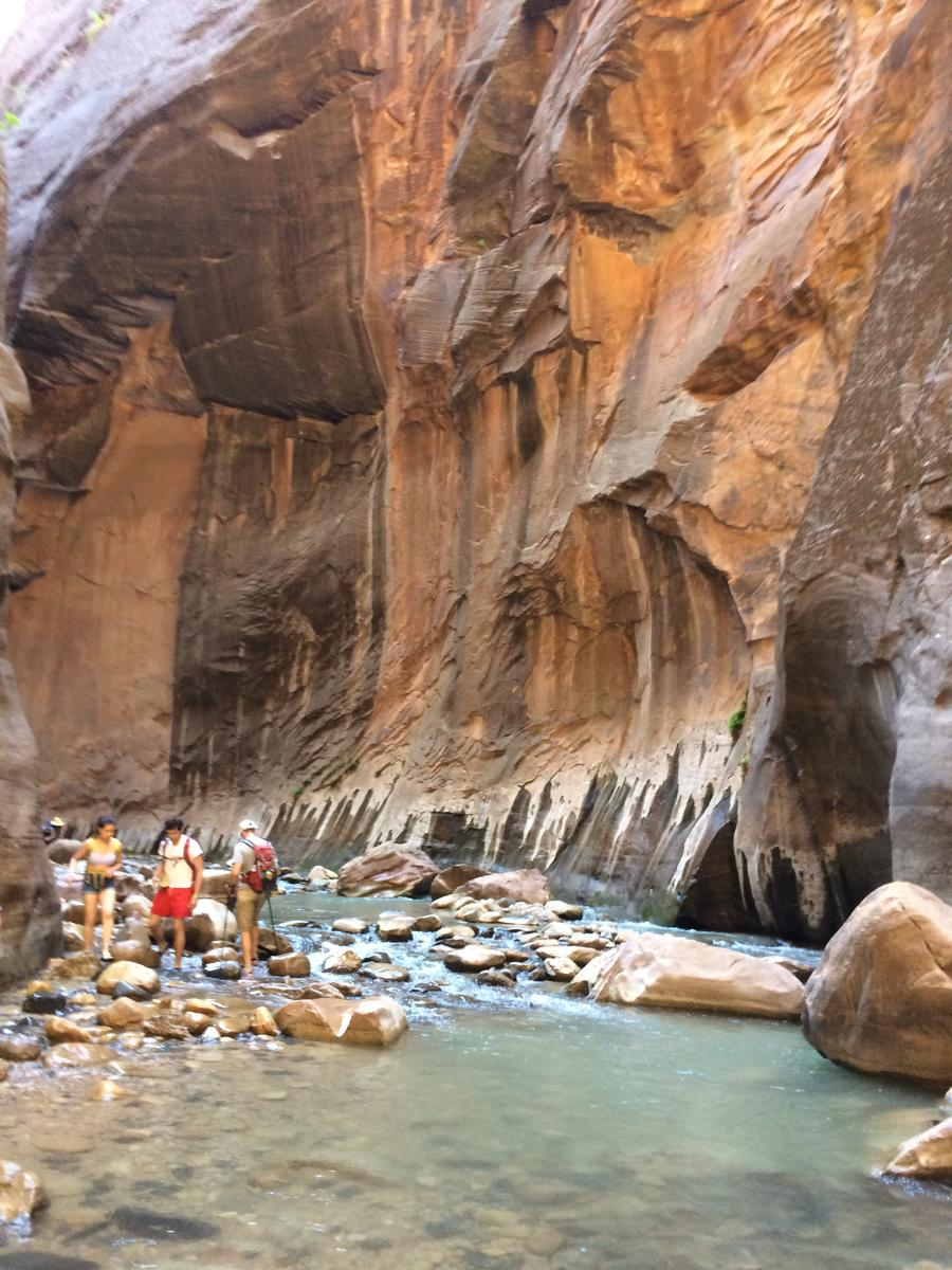 Photo of The Angel Landing and The Narrows
